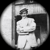 thumbnail of old black and white photo of a man in a hat