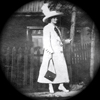 thumbnail of old black and white photo of a woman in a hat